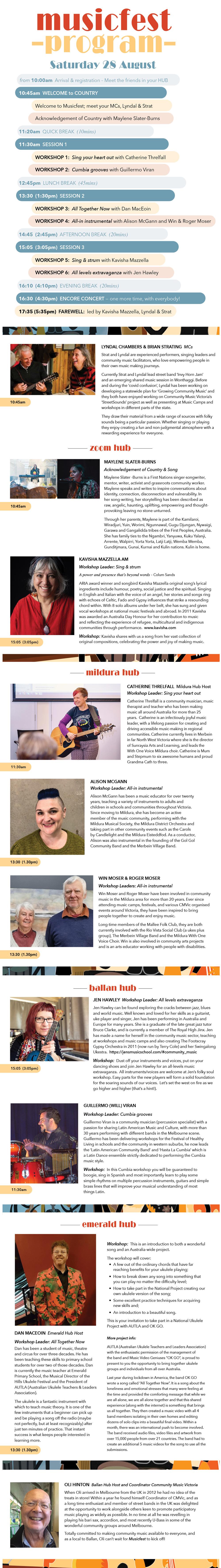 Musicfest 2021 Full Scrollable Program