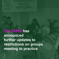 DHHS Updates for Singing or Music: Reviewed June 13